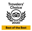 Trip Advisor Travelers Choice Award 2020