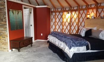 Honeoye Yurt Bedroom