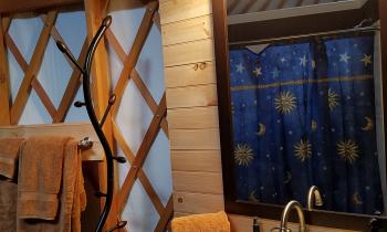 Honeoye Yurt Bath