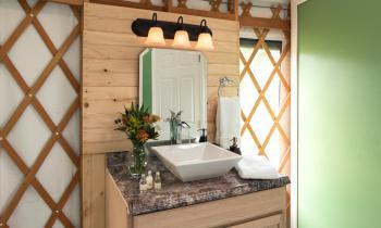 Cazenovia Yurt Bath